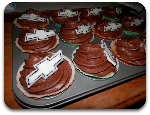 Chevy Chocolate Cupcakes